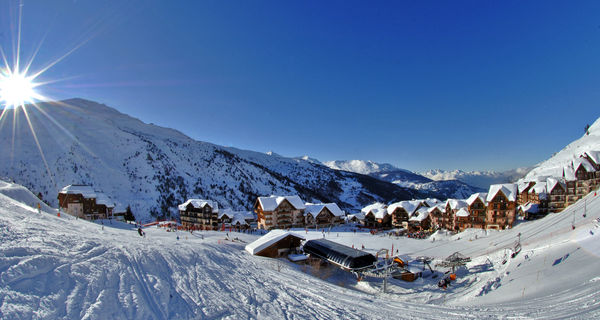 VALMEINIER - (SAVOIE - FRANCE) - Station de ski - Ski resort